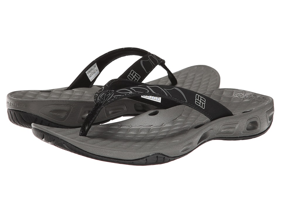 Columbia - Sunbreeze Vent Flip (Black/Platinum) Women's Shoes