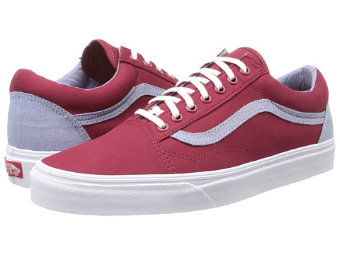 Vans - Old Skool ((T&C) Biking Red/Captain's Blue) Skate Shoes