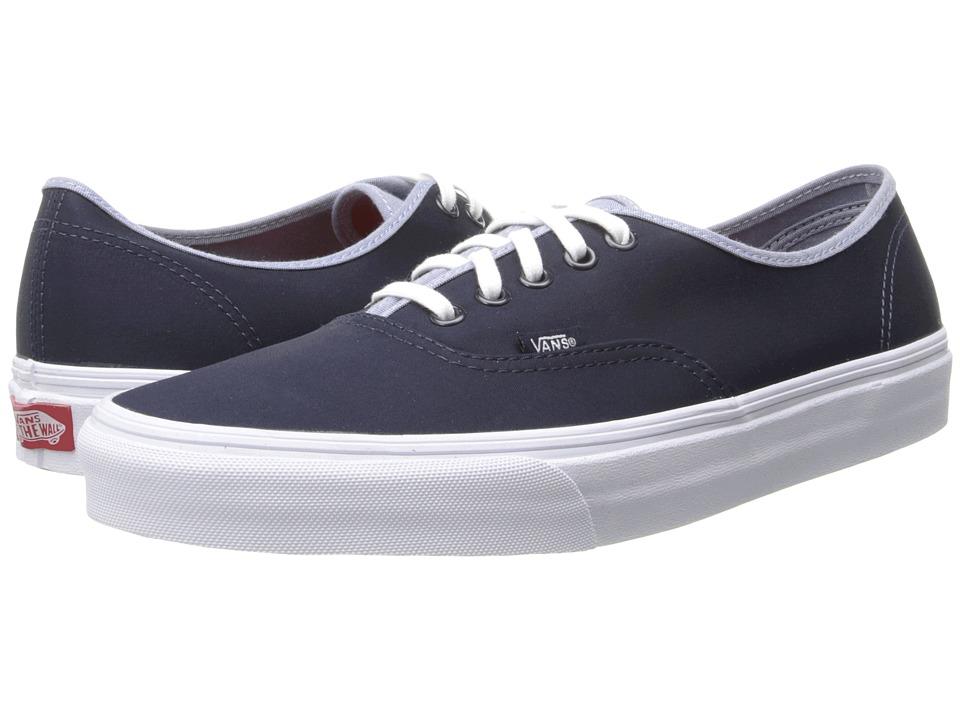 Vans - Authentic ((T&C) Dress Blues/Captain's Blue) Skate Shoes