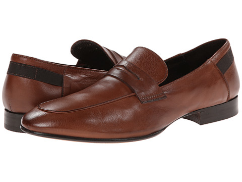 Kenneth Cole Collection - Cant' Resist (Cognac) Men's Slip-on Dress Shoes