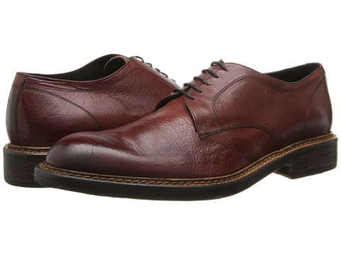 Kenneth Cole Collection - Some-one Special (Bordo) Men's Plain Toe Shoes