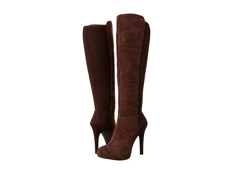 Jessica Simpson Womens Avalona Fudgie Oiled Suede Micro - Boots