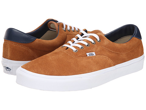 Vans - Era 59 ((Suede/Leather) Brown Sugar) Skate Shoes