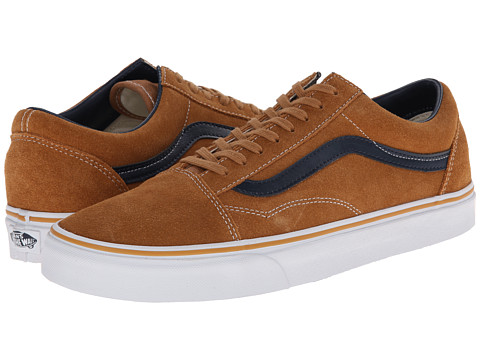 Vans - Old Skool ((Suede/Leather) Brown Sugar) Skate Shoes