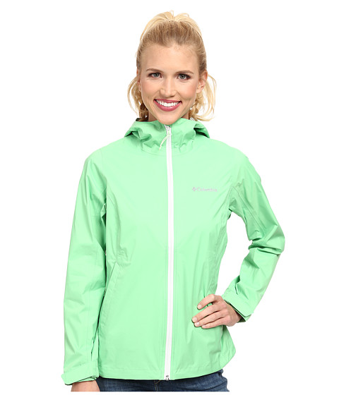 Columbia - EvaPOURation Jacket (Chameleon Green) Women's Coat