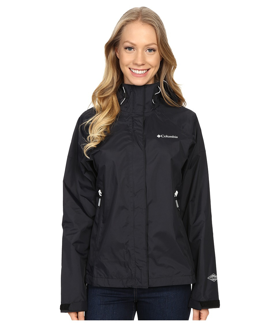 Columbia - Sleeker Jacket (Black/White) Women's Coat