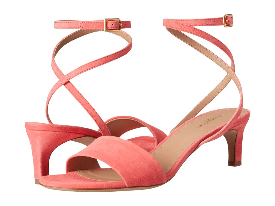 Calvin Klein Collection - Sofia 1 (Watermelon) Women's 1-2 inch heel Shoes