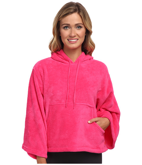 Josie - Josie Coral Fleece Hooded Popover (Cosmo) Women