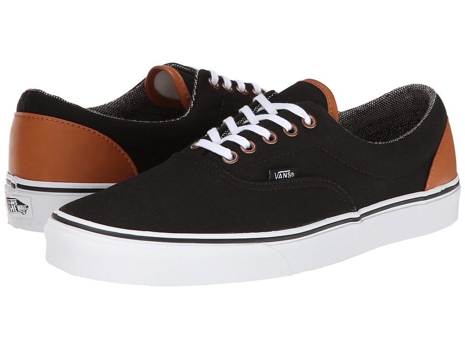 Vans - Era ((C&L) Black/Tweed) Skate Shoes