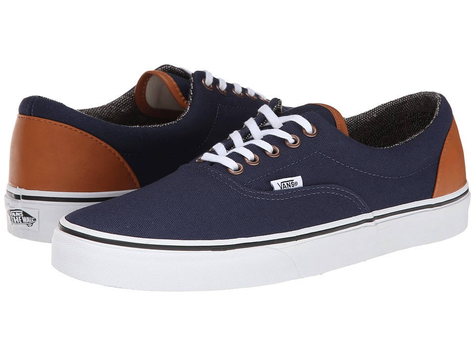 Vans - Era ((C&L) Dress Blues/Tweed) Skate Shoes