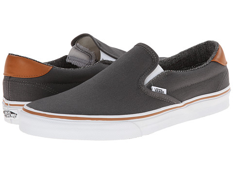 Vans - Slip-On 59 ((C&L) Pewter/Tweed) Skate Shoes