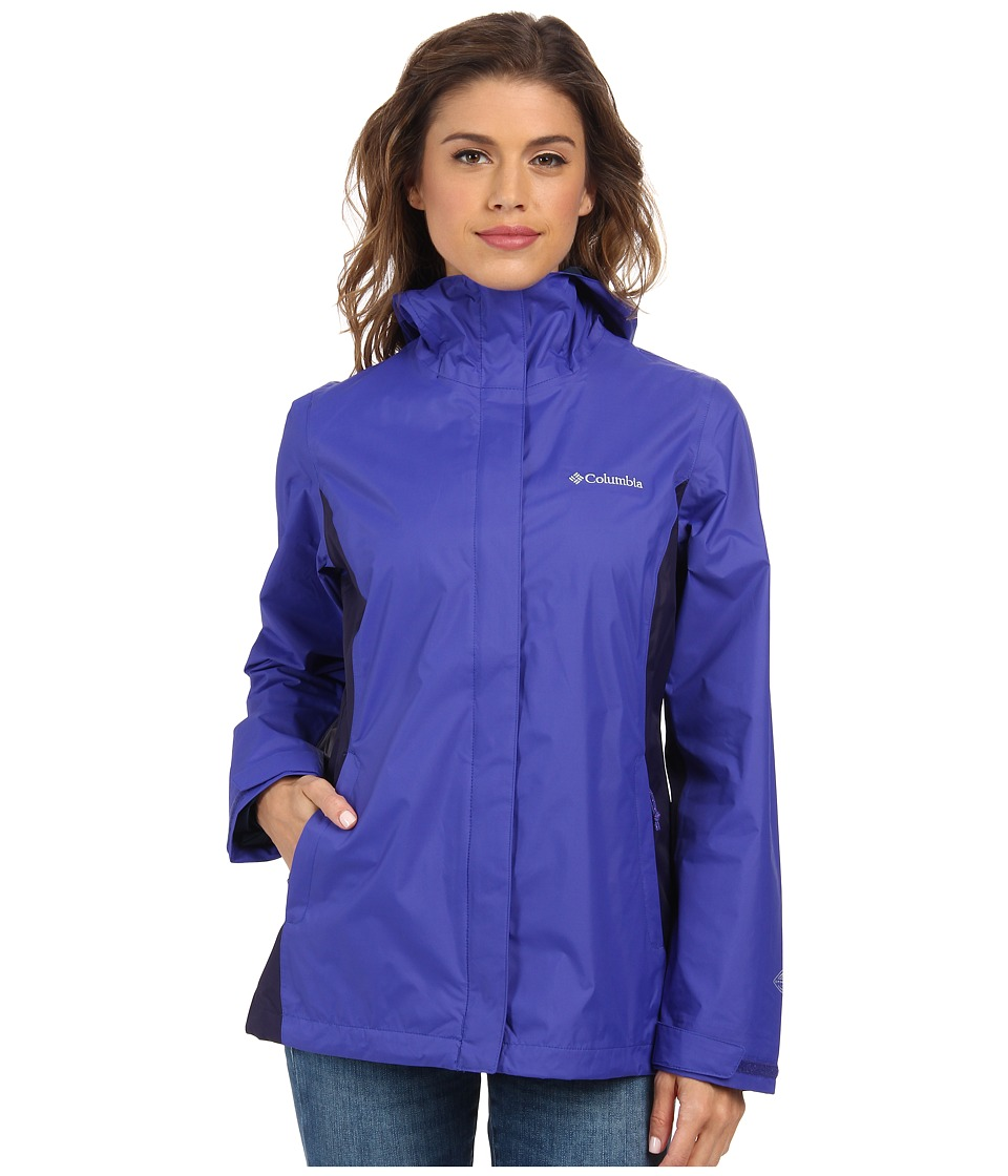 Columbia - Arcadia II Jacket (Light Grape/Eclipse Blue) Women's Coat