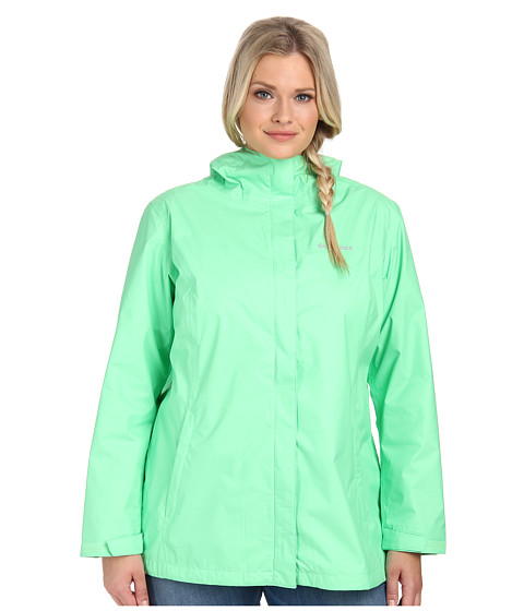 Columbia - Plus Size Arcadia II Jacket (Chameleon Green) Women's Coat