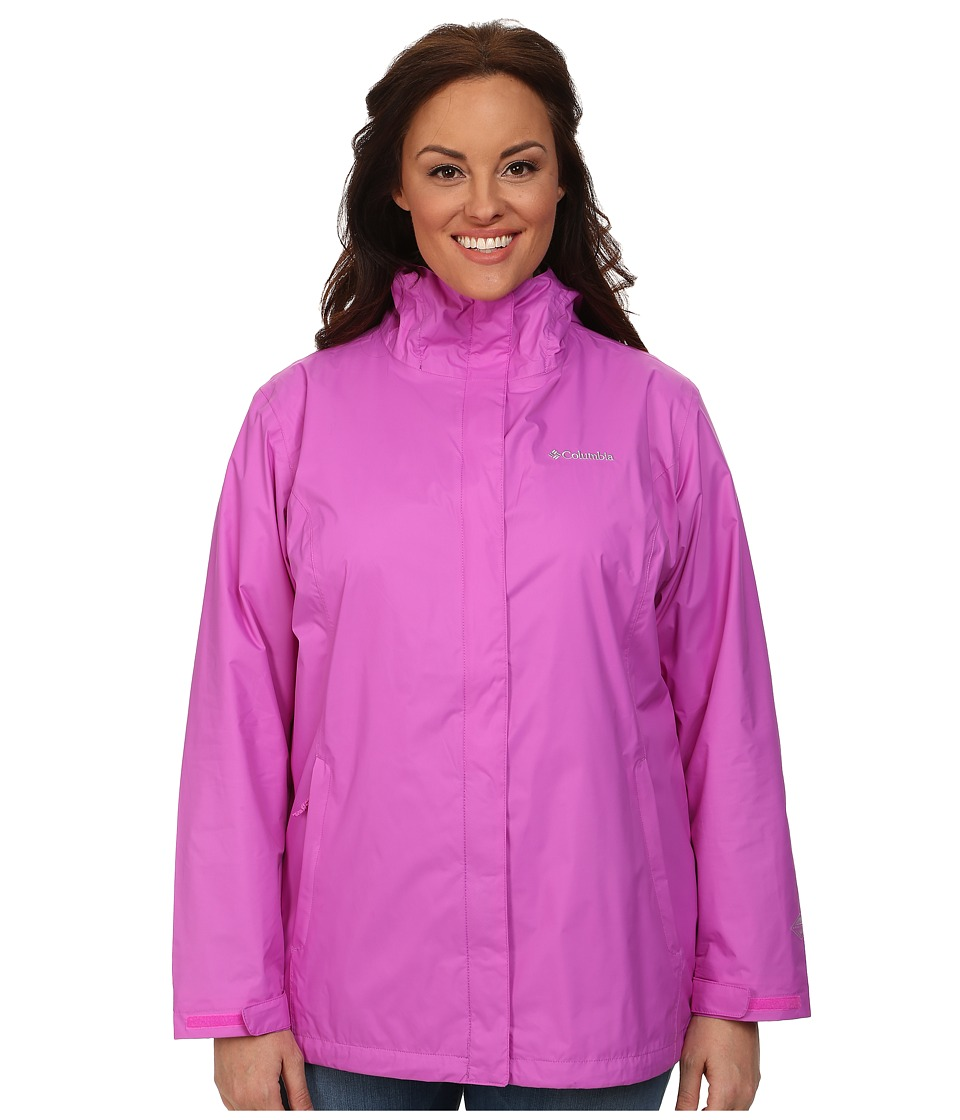 Columbia - Plus Size Arcadia II Jacket (Foxglove) Women's Coat