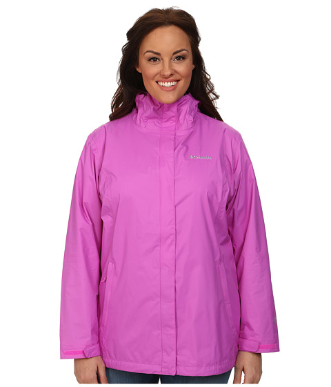 Columbia - Plus Size Arcadia II Jacket (Foxglove) Women