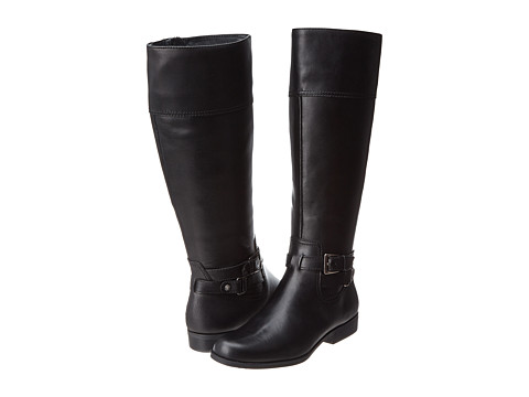 Anne Klein - Coldfeet (Black Leather) Women's Cold Weather Boots