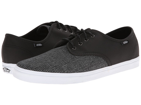 Vans - Madero ((2 Tone Suiting) Black/True White) Skate Shoes
