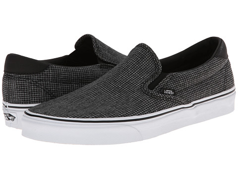 Vans - Slip-On 59 ((Suiting) Black/True White) Skate Shoes
