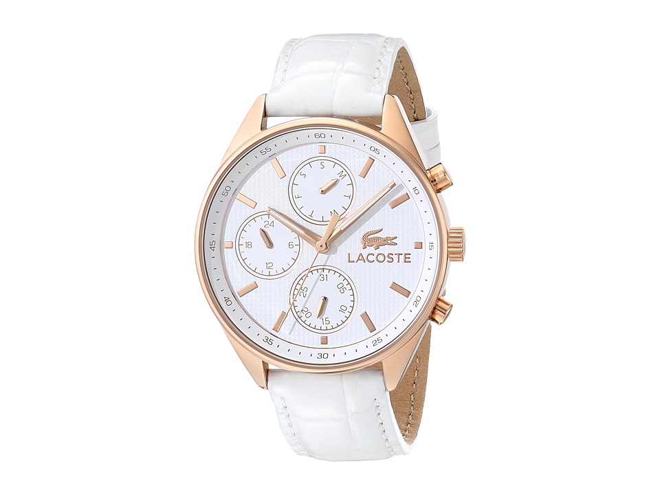 Lacoste - 2000874-PHILADELPHIA (White/Rose Gold) Watches