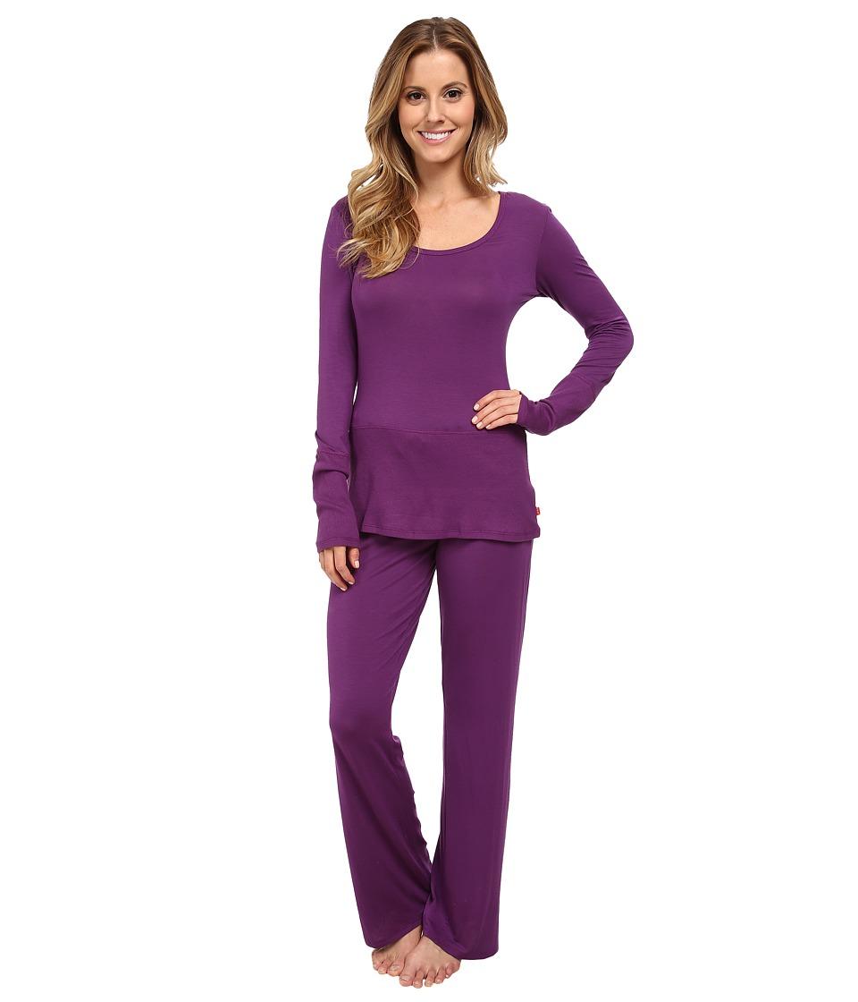 Josie - Femme 30 PJ (Garnet Purple) Women's Pajama Sets