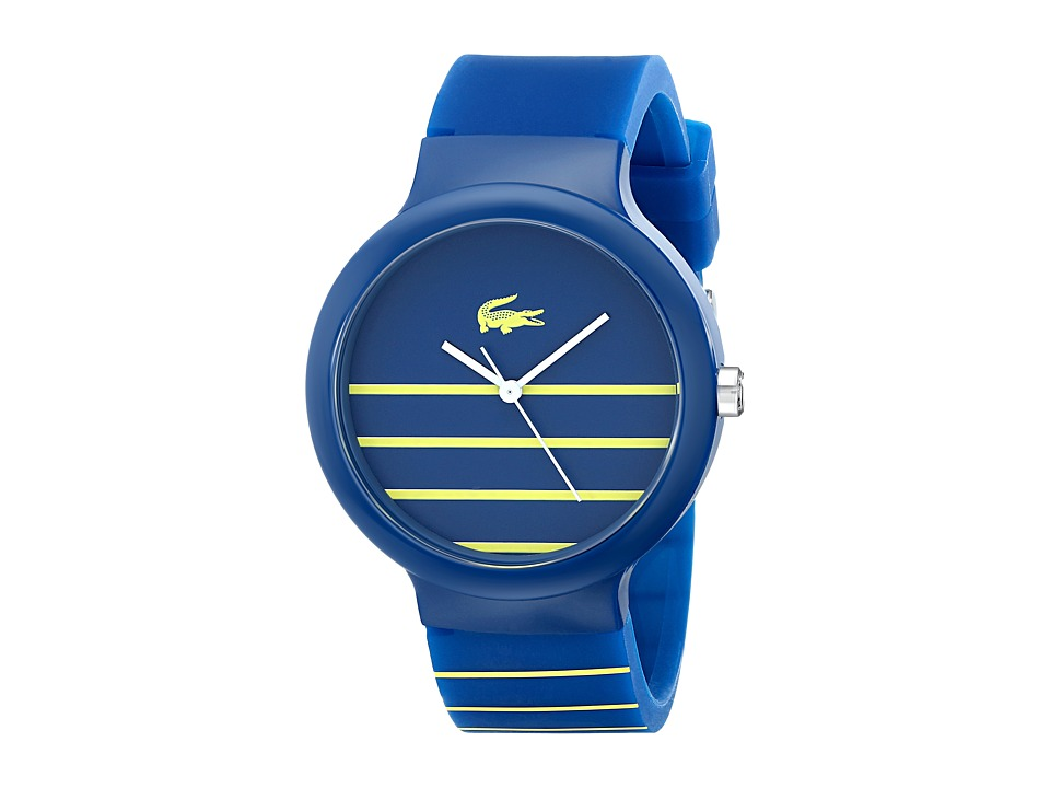Lacoste - 2020089-GOA (Blue/Yellow) Watches