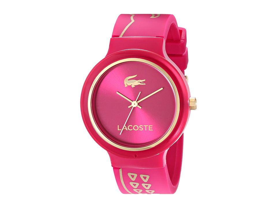 Lacoste - 2020087- GOA (Raspberry/Raspberry) Watches