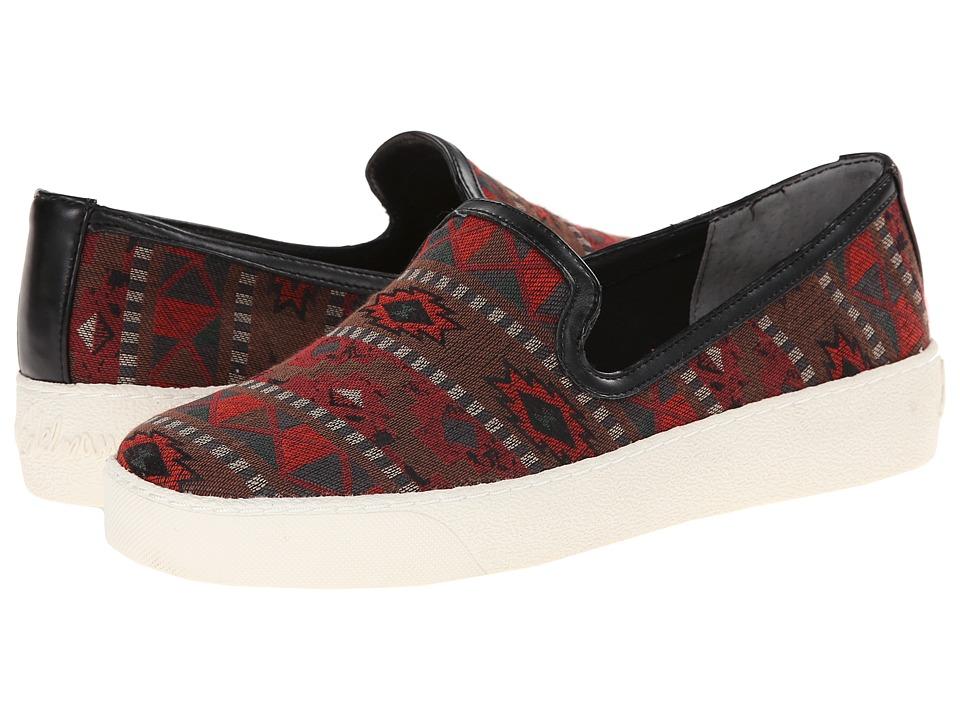 Sam Edelman - Becker (Red Multi Tribal Print) Women's Slip on Shoes plus size,  plus size fashion plus size appare