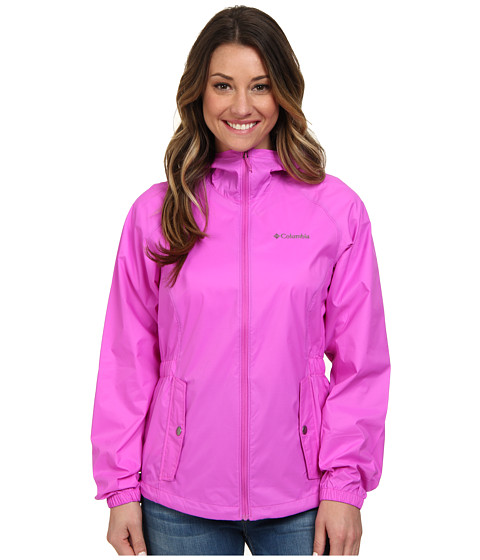 Columbia - Proxy Falls Jacket (Foxglove/Cypress) Women's Coat
