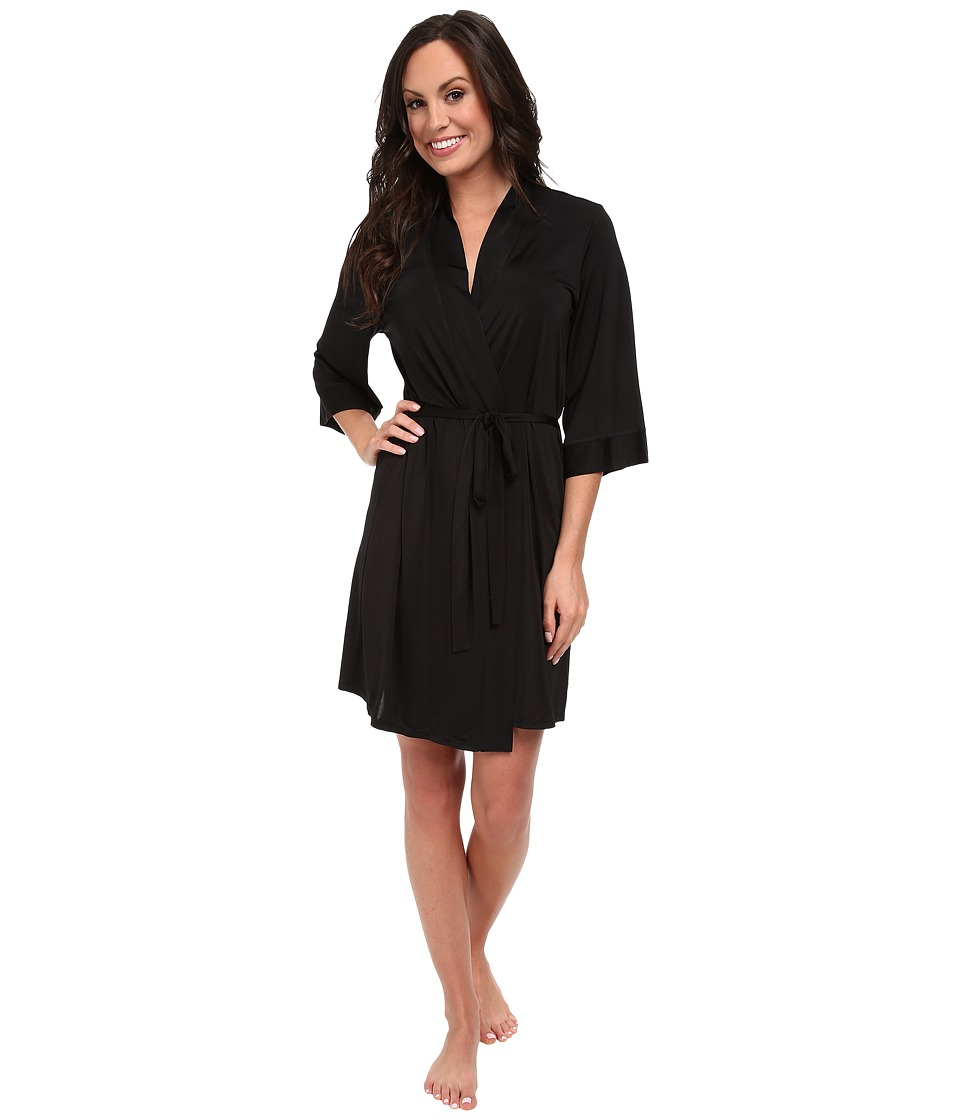 Josie - Jet Set 35 Robe (Black) Women's Pajama
