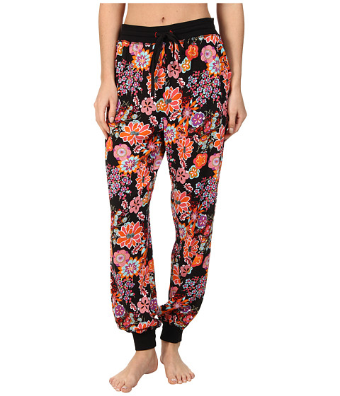 Josie - Decoiserie Pajama Pant (Black) Women