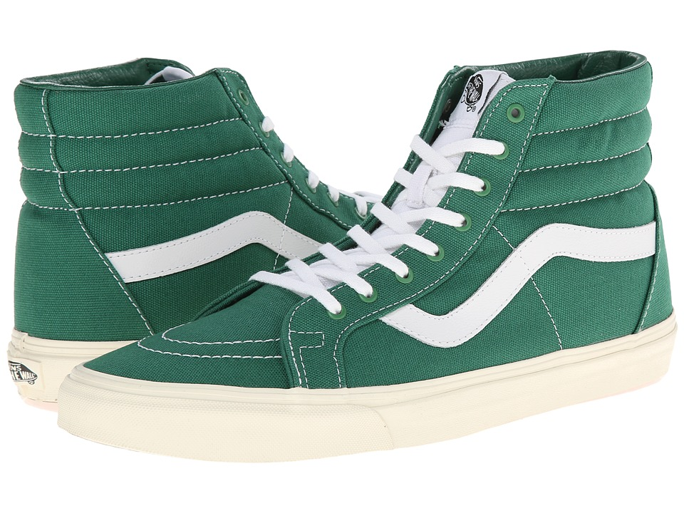 Vans - SK8-Hi Reissue ((10 oz Canvas) Verdant Green/Marshmallow) Skate Shoes