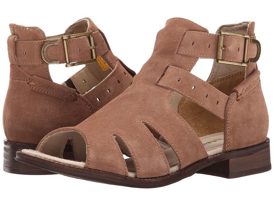 Caterpillar Casual - Jasper (Raw Umber) Women's Toe Open Shoes