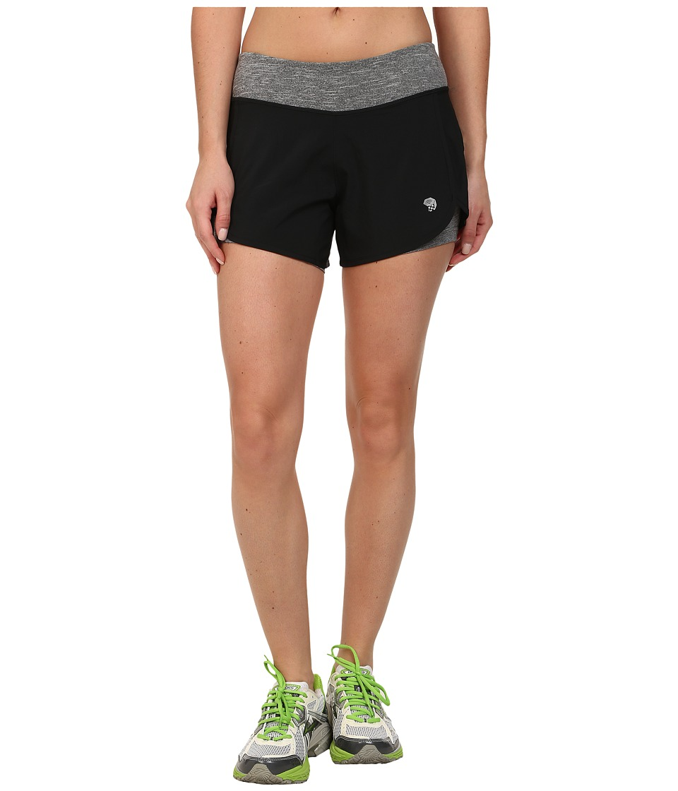 Mountain Hardwear - Pacer 2-in-1 Short (Black) Women's Shorts