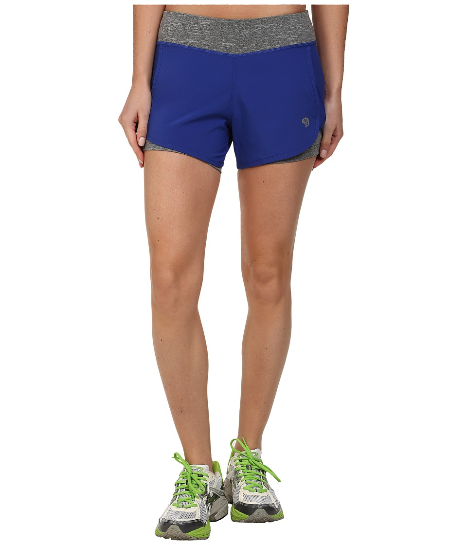 Mountain Hardwear - Pacer 2-in-1 Short (Nectar Blue) Women