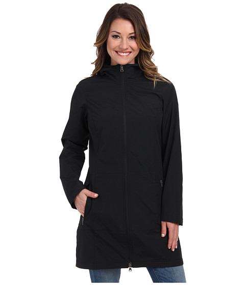 Columbia - Weekday Wanderer Long Softshell Jacket (Black) Women's Coat