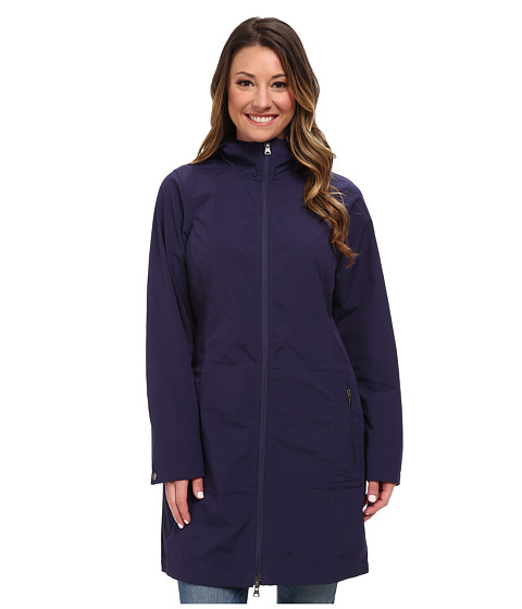 Columbia - Weekday Wanderer Long Softshell Jacket (Eclipse Blue) Women's Coat