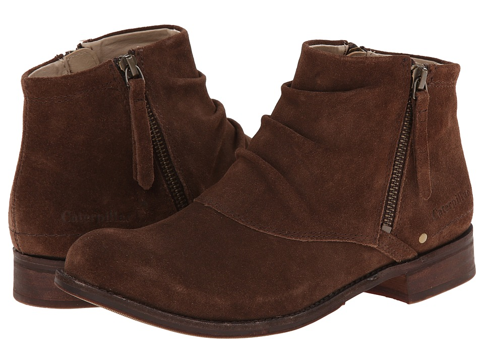 Caterpillar Casual - Irenea (Dark Brown) Women's Zip Boots
