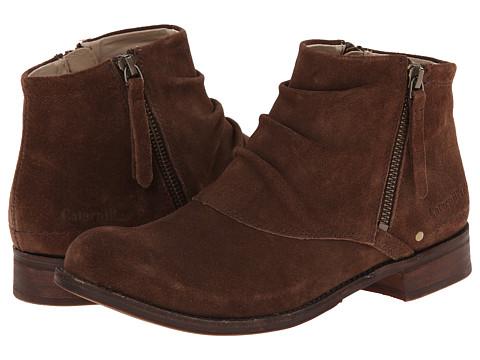 Caterpillar Casual - Irenea (Dark Brown) Women's Zip Boots