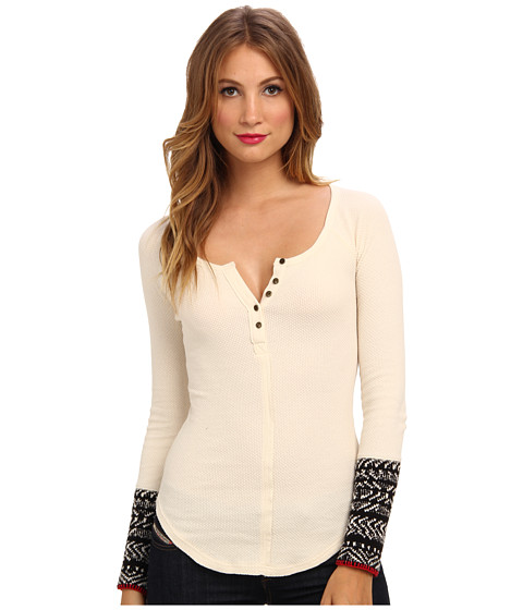 Free People - Alpine Cuff (Ivory) Women's Sweater