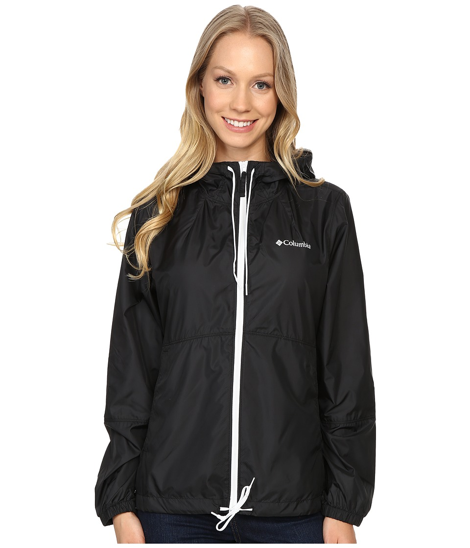 Columbia - Flash Forward Windbreaker (Black Matte) Women's Jacket