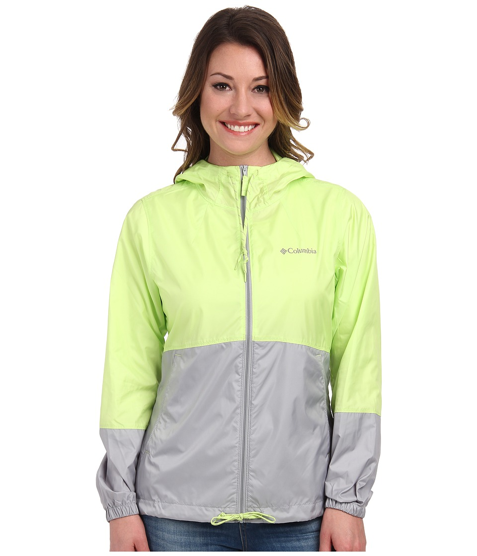 Columbia - Flash Forward Windbreaker (Tippet Matte/Columbia Grey) Women's Jacket