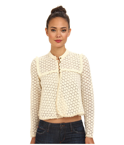 Free People - Better Together Top (Cream) Women's Clothing