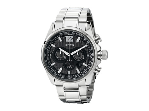Citizen Watches CA4170-51E Eco-Drive Shadowhawk (Silver Tone Stainless Steel) Dress Watches