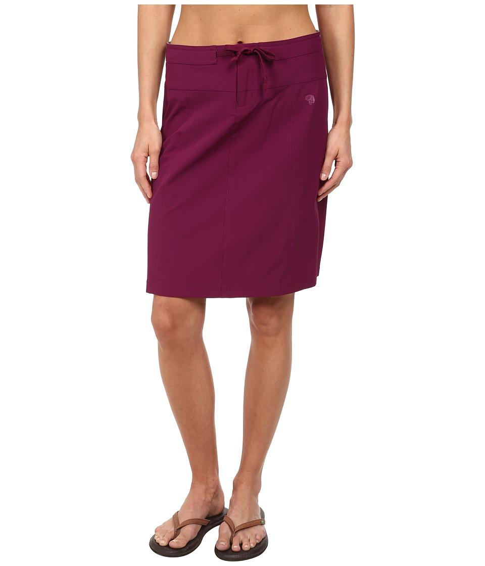 Mountain Hardwear - Yuma Trekkin Skirt (Dark Raspberry) Women's Skirt