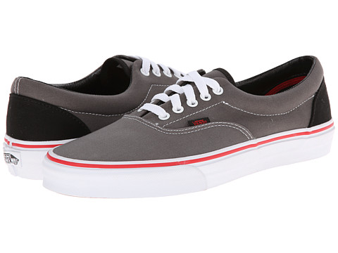 Vans - Era ((Pop) Gargoyle/Mars Red) Skate Shoes