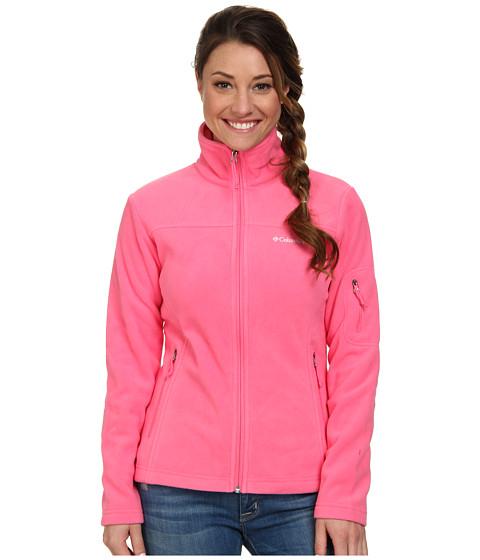 Columbia - Fast Trek II Full-Zip Fleece Jacket (Tropic Pink) Women
