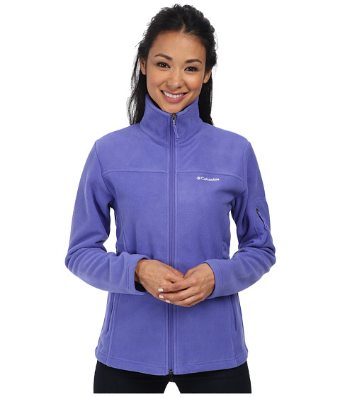 Columbia - Fast Trek II Full-Zip Fleece Jacket (Purple Lotus) Women