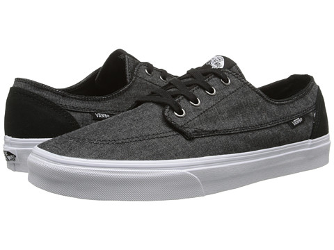 Vans - Brigata ((C&C) Black/True White) Skate Shoes