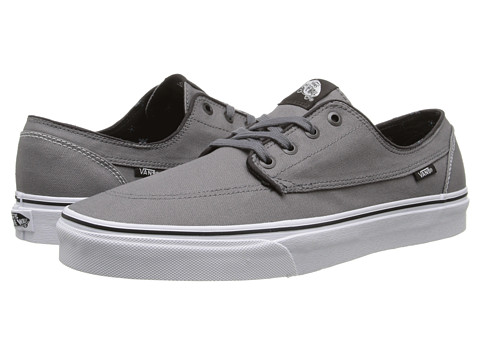 Vans - Brigata ((Canvas) Steel Gray) Skate Shoes