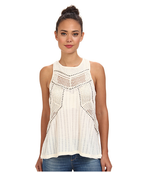 Free People - Trinity Tank (Cream) Women's Sleeveless